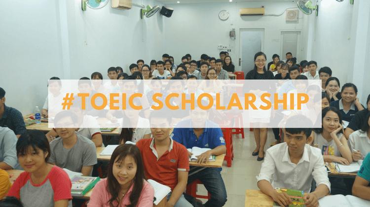 Học bổng cho học viên thi Toeic điểm cao