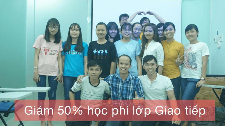 Giảm 50% học phí lớp Giao tiếp nhân ngày nhà giáo Việt Nam 2017