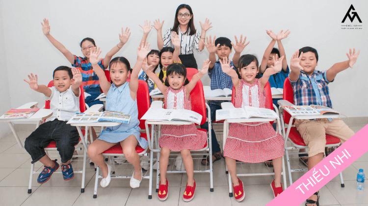 Khoá học Tiếng Anh Thiếu nhi tại Tiếng Anh Thầy Giảng Cô Mai